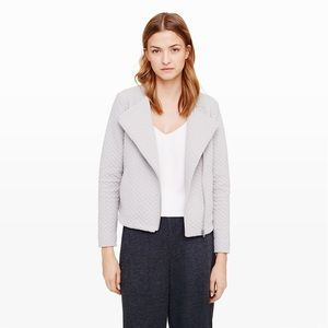 Cotton quilted grey Club Monaco jacket